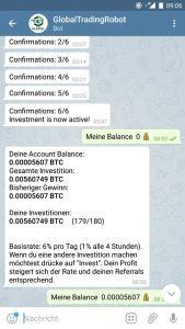 Global Trading Bot telegram arbitrage