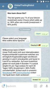 global trading bot telegram